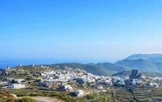 Chora Amorgos Cyclades Greece