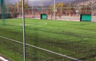 Κατασκευή γηπέδου ποδοσφαίρου υπαίθριου Αθλητικού Κέντρου Καταπόλων