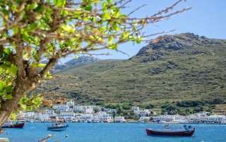 Katapola Amorgos Cyclades Greece