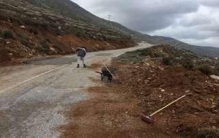 Storm Agios Pavlos Amorgos