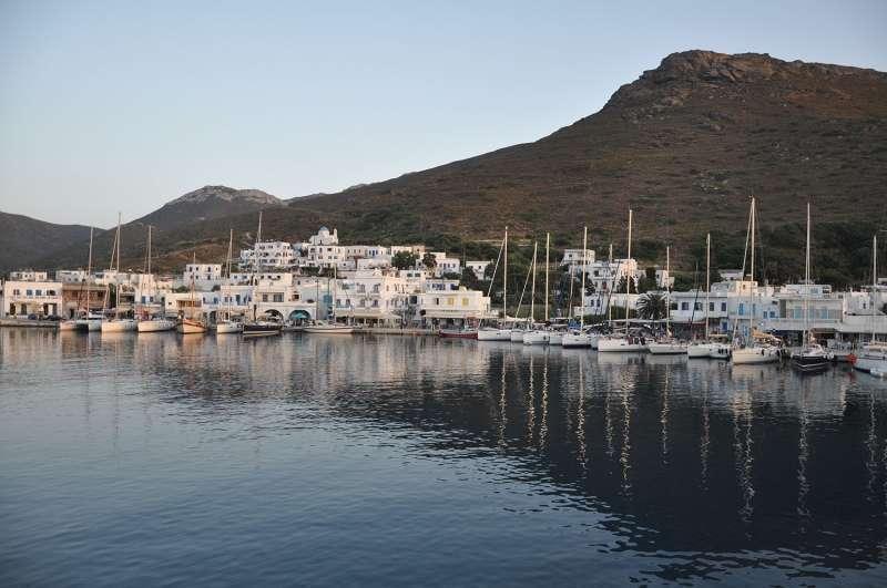 Katapola Amorgos Greece