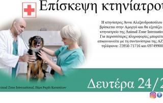Επίσκεψη κτηνιάτρου