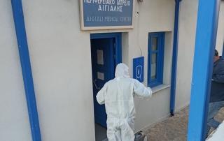 Απολύμανση και προληπτικά μέτρα προστασίας για τον κορωνοϊο