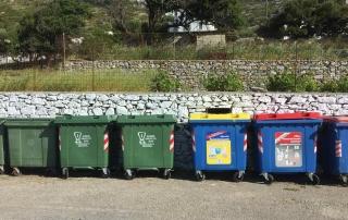 Δήμος Αμοργού Αντικαταστάσεις κάδων απορριμμάτων