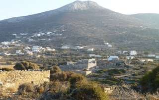 Tower of Agia Triada Arkesini Amorgos